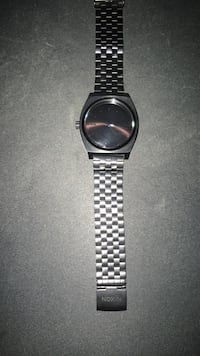 Slightly Used Black Nixon watch without the box  Edmonton, T5W 2S5