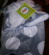 New fleece baby blanket Anoka