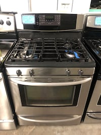 KENMORE gas propane stainless steel gas stove  Baltimore, 21223