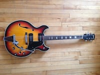 1970's Pan guitar $350 firm price w/ case (Japanese) Montréal, H2W 1B9