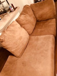 Microfiber L Sectional Couch Los Angeles, 91405