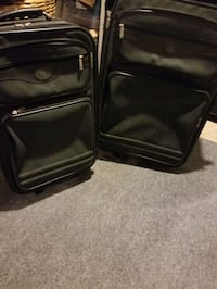 Large and small sturdy luggage bags