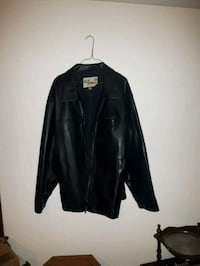 XL Leather-Look Polyvinyl Jacket Smithville, L0R