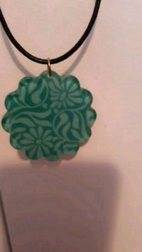 Teal Pendant necklace Calgary, T2B 0J2