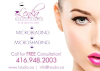 Certified microblading technician offering her ser Kearney, P0A