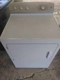 white front-load clothes dryer GREENWELLSPRINGS