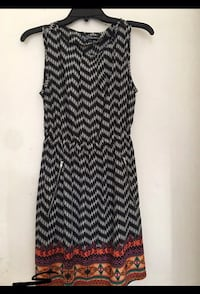 Black printed sleeveless dress Los Angeles, 90015