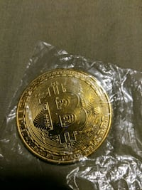 Gold plated Bitcoin Hamilton, L9B 1T5