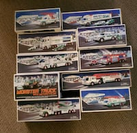 Hess Truck Lot of 10 with boxes