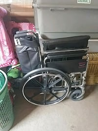 black and gray motorized wheelchair Catonsville, 21228