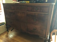 Antique dresser and highboy in fair condition.   East Moriches, 11940