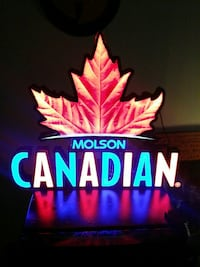 Molson Canadian bar sign for sale 350 obo
