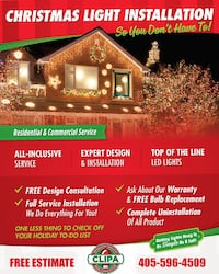 Holiday Lighting Services Bethany