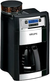 KRUPS KM785D50 Grind and Brew Auto-Start Maker with Built in Burr NEW