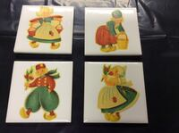 Tile porcelain boy and girl wall arts Peabody, 01960