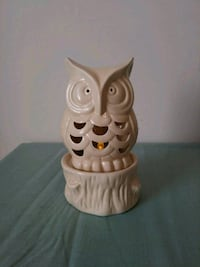 Owl candle holder from yankee candle