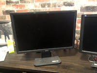 Black flat screen computer monitor Toronto, M1N 1N8
