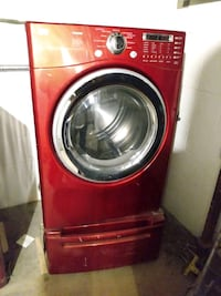 Lg washer and dryer with both storage stands