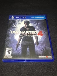 Uncharted 4 PS4 game Los Angeles, 91324