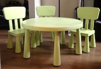 Ikea table with 4 chairs  Toronto, M9W 2B5