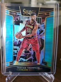 Cavaliers Tristan Thompson refractor card Paramount, 90723