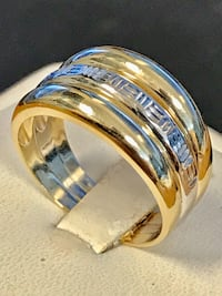 Versace gold band