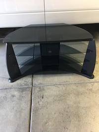 Black particle wood TV stand table  Chino, 91710