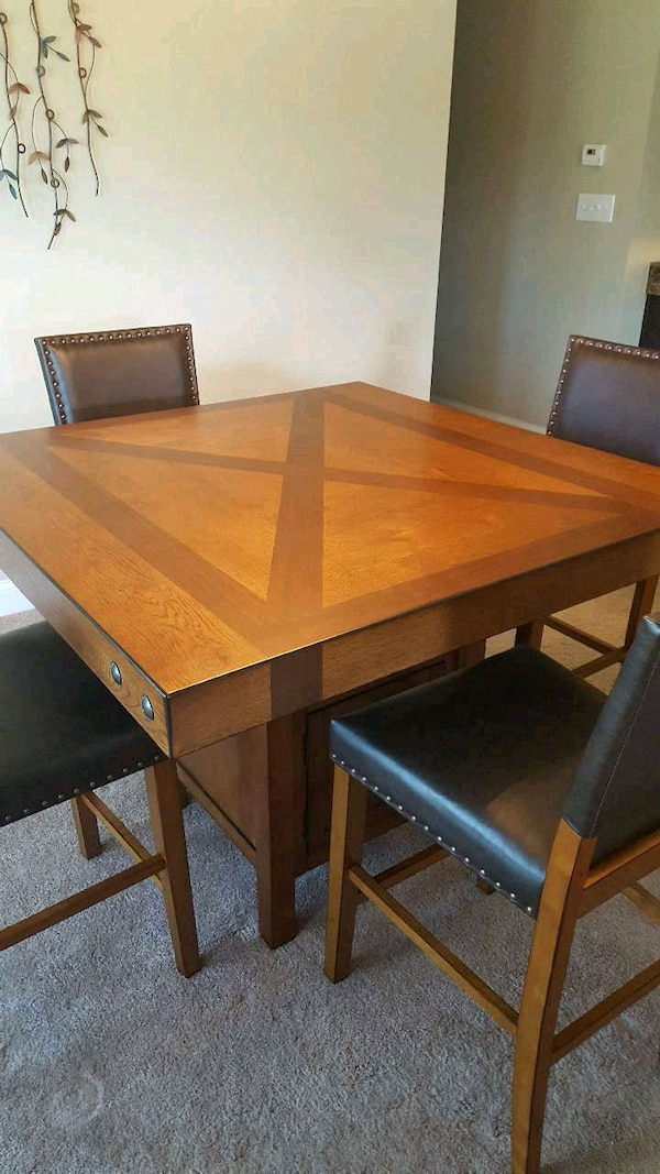 used ashley furniture dining room table with chairs for