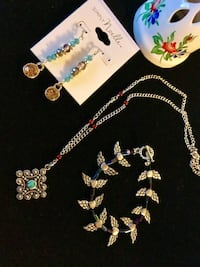Welcome to visit my page for more Silver jewelry / Necklace $25 / earring $15  Alexandria, 22311