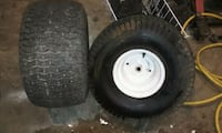 2 Turf saver lawn mower tires Houma, 70364