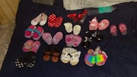 toddler's assorted pairs of shoes Calmar