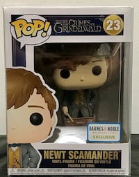 Newt Scamander Barnes & Noble Exclusive Funko Pop Toronto, M2J