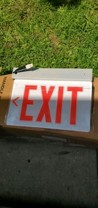 EXIT SIGNS. 4