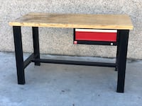 Two Griot's Garage Workbenches with Lista Drawers & Solid Wood Tops San Diego, 92104