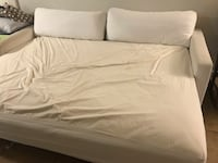 white and gray bed sheet 2254 mi