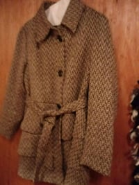 gray and black knit button-up jacket Chillicothe, 45601