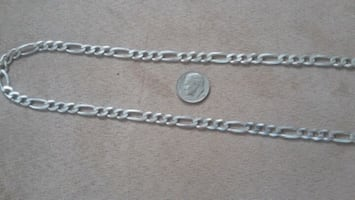 Mens Sterling 925 silver 24 in chain made in Italy