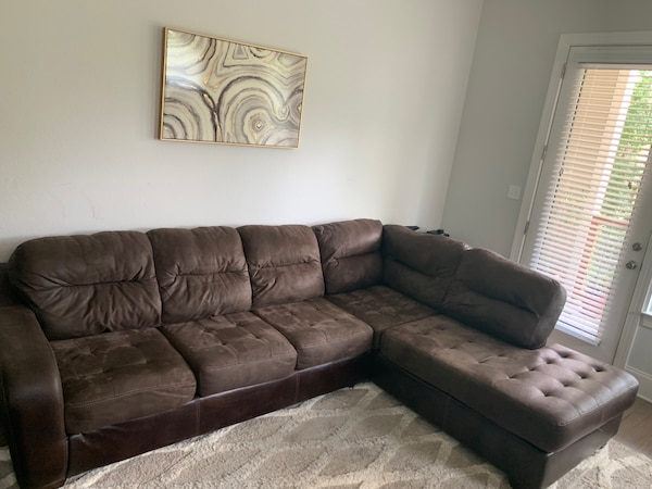 Ashley Furniture Durablend Leather Sectional Sofa