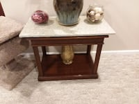 Table with custom Terrazzo topper Yonkers
