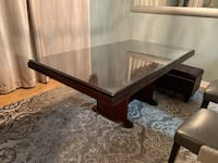Dinning table with glass protection 534 km