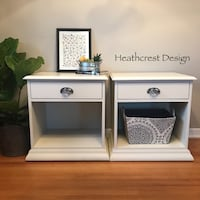 Nightstand / Bedside Tables (2Pairs)