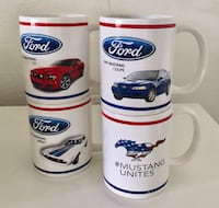 4x Ford Mustang mugs / official licensed  Colton, 92324