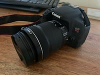 Canon T7i with 18-135mm lens
