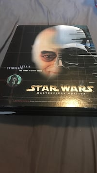 Great condition limited edition Star Wars masterpiece edition anakin skywalker the story of darth vader  Surrey