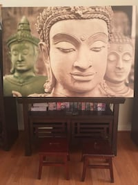 Buddha Canvas Painting Chantilly, 20151