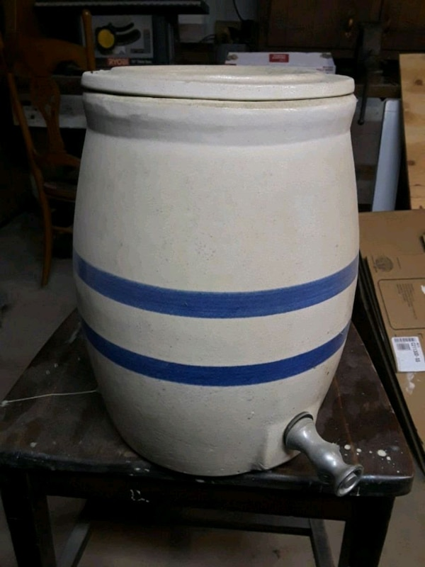 Old Clay Water Cooler