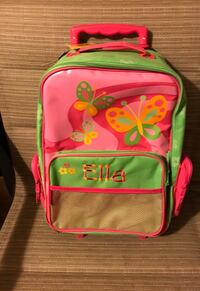 pink and green Minnie Mouse backpack Harrison Township, 48045