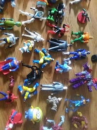 assorted color plastic toy lot Louisville