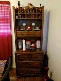 brown wooden hutch  Panama City, 32405