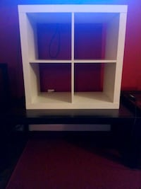 White Wooden Four Compartment Shelf Tallahassee, 32304